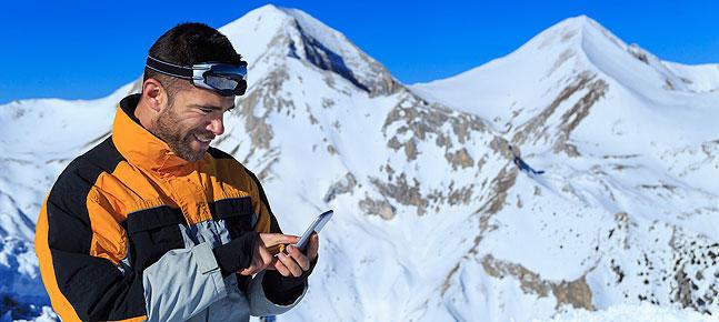 Les millors apps per a esquiadors